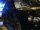 Muž v černém subaru srazil ve Vršovicích ženu na přechodu, ta utrpěla vážná...