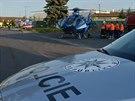 Muž z Peček na Kolínsku se popálil, když manipuloval s benzínovou nádrží...