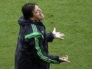 Mexický trenér Miguel Herrera těžko nese verdikty sudích, kteří neuznali jeho...