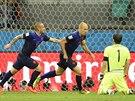 Totální euforie. Nizozemští fotbalisté připravili Španělsku druhou nejhorší...