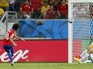 Chilan Jorge Valdivia d�v� g�l v utk�n� MS proti Austr�lii