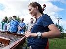 Na Boršovským lúkách u Kyjova obnovili tradiční kosení luk. Akci doprovázela i...