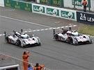 DOUBLE. 82. ročník závodu 24 hodin Le Mans ovládly vozy Audi.