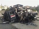 Po islamistech z�stala v Mosulu i zni�en� arm�dn� technika (12. �ervna)