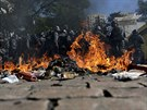 Podle agentury Reuters při prvním incidentu v Sao Paulu skupina radikálních...