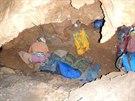 Záchrana německého speleologa vrcholí, na světle bude do dvou dnů.