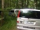Policie vy�et�uje od soboty n�lez oho�el�ho t�la v kl�novick�m lese (14. �ervna...
