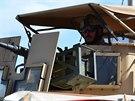 Český voják byl oceněn za hrdinství v boji během útoku Talibanu