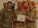 Desátník J.K. oceněný za hrdinství v boji během útoku povstalců Talibanu