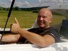 Pilot Jiří Pruša krátce před startem cesty nad ostrovy Severního moře. (16....