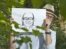 Karikaturista Miroslav Kemel