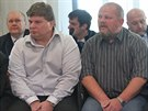 Mezi obžalovanými jsou i řidiči David (vlevo) a Radim Královi. (16. června 2014)