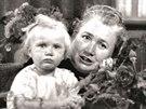 S vnučkou Martou na snímku ze září 1946