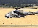 Bitevn� vrtuln�k Mi-24 �esk�ho letectva