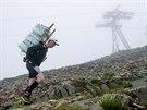Účastníci třetího ročníku soutěže Sněžka Sherpa Cup pokořili 14. června...