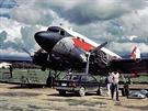 DC 3 Dakota společnosti TAL.
