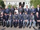 Odhalení památníku českých letců na Klárově (17. června 2014)