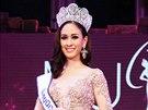 Velurí Ditsajabutová byla thajskou královnou krásy necelý měsíc.