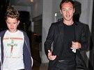 Jude Law se synem Raffertym