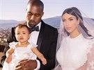Manželé Westovi s dcerou North