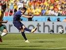SROVNÁNO. Na 2:2 dokázal v zápase proti Austrálii srovnat svým třetím gólem na...