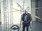 René Roubíček se svou plastikou Expo2