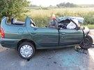 Při tragické nehodě zemřel řidič jednoho z aut, který ze zatím neznámých příčin...