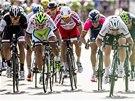 HON NA MARKA. Závěrečný spurt ve čtvrté etapě závodu Kolem Švýcarska ovládl