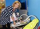 Kateřina Stočesová je překvapená, co všechno se už pro miminka vyrábí.