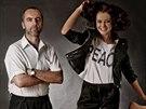 RODINA POD LUPOU: �esk� Miss Tereza Chlebovsk� a jej� otec Bohumil Chlebovsk�