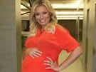 Lucie Borhyová je už v devátém měsíci těhotenství.
