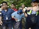 Jihokorejští policisté prohledávali náboženskou komunitu ve městě Ansong (Jižní...