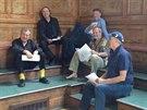 Monty Python na svém Facebooku zveřejnili fotografie ze zkoušky.