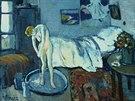 Obraz Modrý pokoj, který skrýval nečekané tajemství, namalova Picasso v roce...