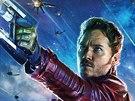 Jeden z plakátů k filmu Strážci galaxie