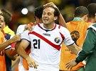 GÓL PO MINUTĚ NA HŘIŠTI. Kostarický útočník Marco Ureňa (21) se trefil