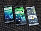 HTC One mini 2 se podobá většímu modelu One M8 více než tomu bylo u loňských...