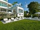 Dům na Barbadosu zařizovala slavná britská designérka Kelly Hoppenová.