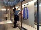 Architekt Keiichi Kiriyama se snažil, aby se mladé majitelce bytu pokaždé, když...