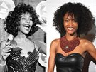Whitney Houston a Yaya DaCosta