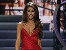 Miss Nevada Nia Sanchezov� na sout�i Miss USA 2014, kterou vyhr�la.