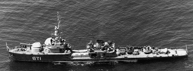 Severokorejská fregata t�ídy Najin