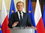 Polsk� premi�r Donald Tusk prohl�sil, �e demise vl�dy rozhodn� nep�ich�z� v...