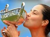 VÍTĚZKA. Turnaj v Birminghamu ovládla srbská tenistka Ana Ivanovičová.