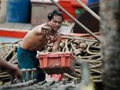 Z uprchl�k� z okoln�ch st�t� se v Thajsku mnohdy st�vaj� modern� otroci. �asto...