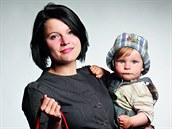 Renata Fíková se synem