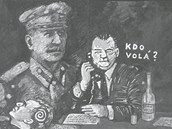 Z komiksu Češi 1952 (Kosatík-Mašek)