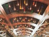 Světelný strop vstupní pasáže budovy Praha City Center, 1997