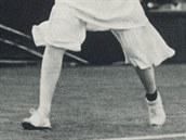 �pan�lsk� tenisov� hv�zda Senorita Lili de Alvarezov� na sn�mku z roku 1931 v...
