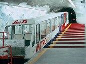 Nejvýše položené metro na světě v Saas-Fee